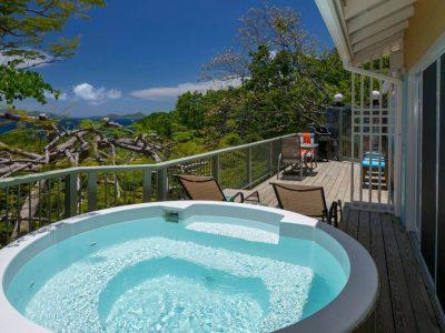 The Point at Maria Bluff Cottage St John vacation rental