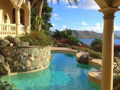 Villa La Susa Peter Bay St John luxury vacation rental