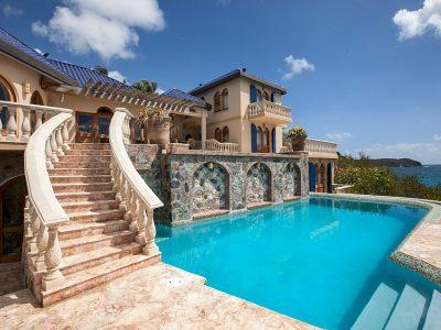 Villa Mistral St John luxury vacation rental