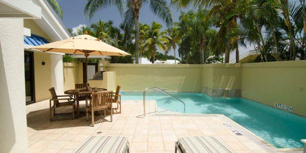 Westin St John Hillside pool villa vacation rental