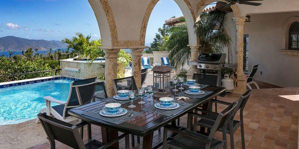 Alta Vista Villa St John vacation rental