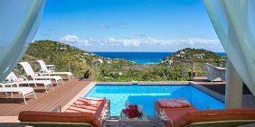Mint Mecca Villa St John USVI pool ocean view