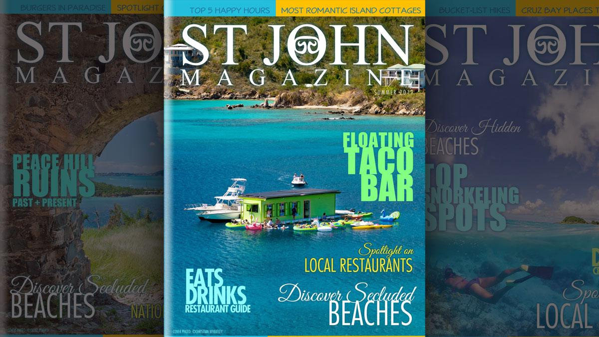St John Magazine cover launch