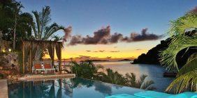 Lime in teh Coconut Villa, St John luxury beachfront vacation rental
