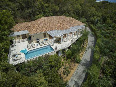 Marbella Villa St John aerial