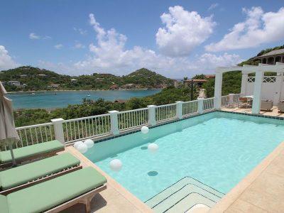 Castaway Villa St John pool view