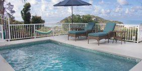 Still Waters Villa vacation rental pool view