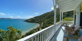Mornin Glory Cottage, Coral Bay, St John vacation rental ocean view