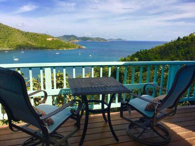 Lily Cottage Coral Bay vacation rental ocean view