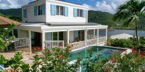 Sea Biscuit Villa Coral Bay vacation rental ocean view