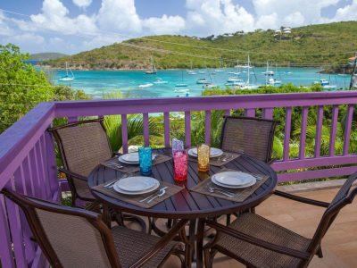 1W Lavender Hill, Cruz Bay, St John patio view