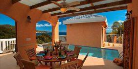 Eco Friendly beachfront villa st john us virgin islands