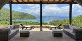 Maho Bay House, St John villa overlooking Maho Bay Beach