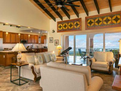 Cay Syrah Villa, St John, great room view