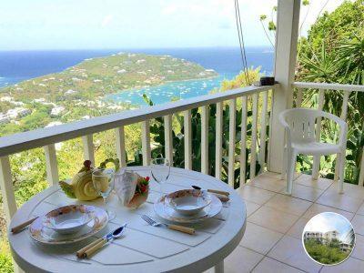 Ocean Garden Suite breakfast view