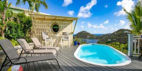 Meritage Great House villa, pool view, St John, USVI