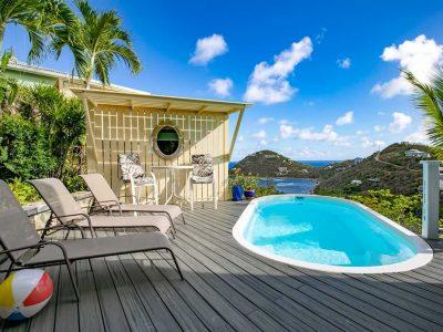 Meritage Great House villa, pool view, St John, USVI